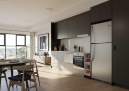 arista apartment kitchen
