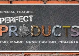 Perfect Products for major construction special feature.