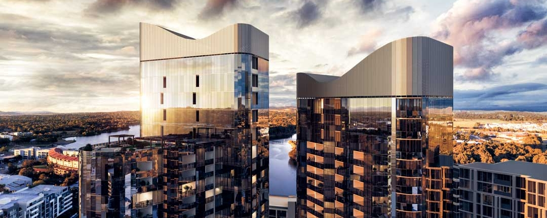 High Society residential towers