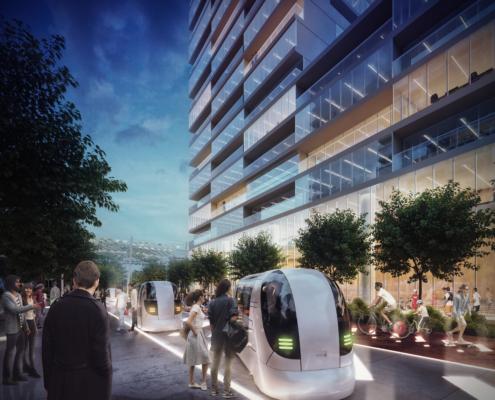 render, Milano Innovation District (Lendlease)